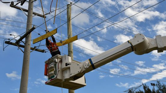 Overhead Electrical Work