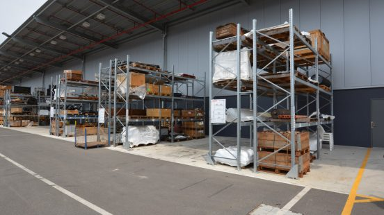 Warehouse Delivery Yard