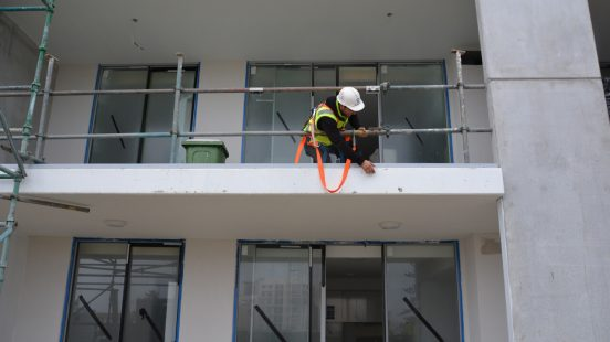 Commercial Construction at Height