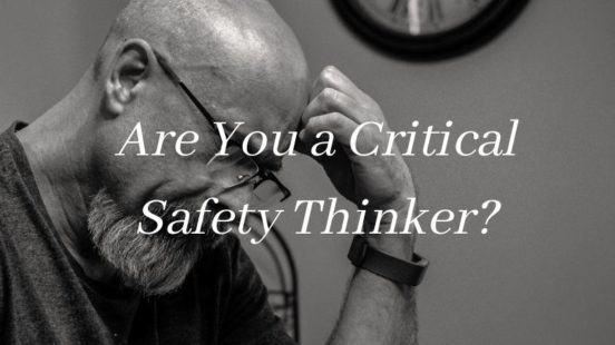 critical safety thinking